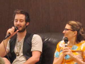 """""""Husbands"""" Panel at ATX Television Festival 2013 Photo by Michael McKinney"""