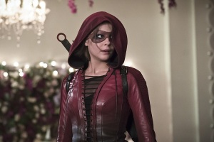"""Arrow -- """"Broken Hearts"""" -- Image AR416a_0281b.jpg -- Pictured: Willa Holland as Thea Queen/Speedy -- Photo: Katie Yu/The CW -- © 2016 The CW Network, LLC. All Rights Reserved."""