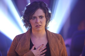 """Crazy Ex-Girlfriend -- """"Josh Has No Idea Where I Am"""" -- Image Number: CEG115a_0374.jpg -- Pictured: Rachel Bloom as Rebecca -- Photo: Scott Everett White/The CW -- © 2016 The CW Network, LLC. All rights reserved."""