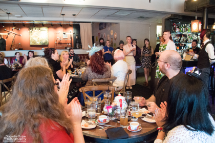 A rousing success for the first of many High Teas at Battle & Brew