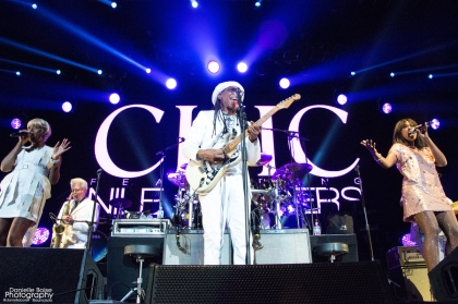 Chic featuring Nile Rodgers opened for Duran Duran 'Paper Gods' Tour at Philips Arena in Atlanta