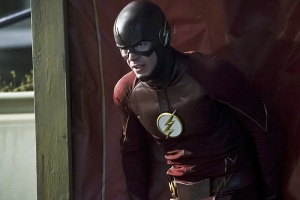"""The Flash -- """"Back to Normal"""" -- Image: FLA219b_0131b.jpg -- Pictured: Grant Gustin as The Flash -- Photo: Katie Yu/The CW -- © 2016 The CW Network, LLC. All rights reserved."""