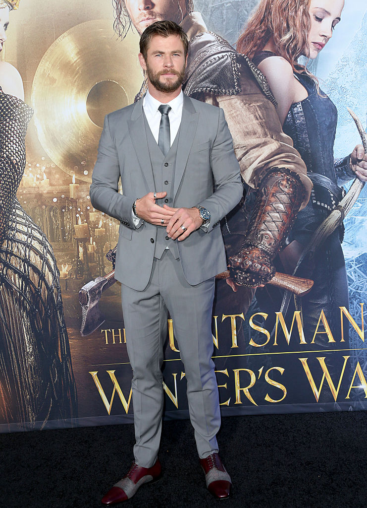 chris hemsworth, celebrity looks, red carpet celebrities