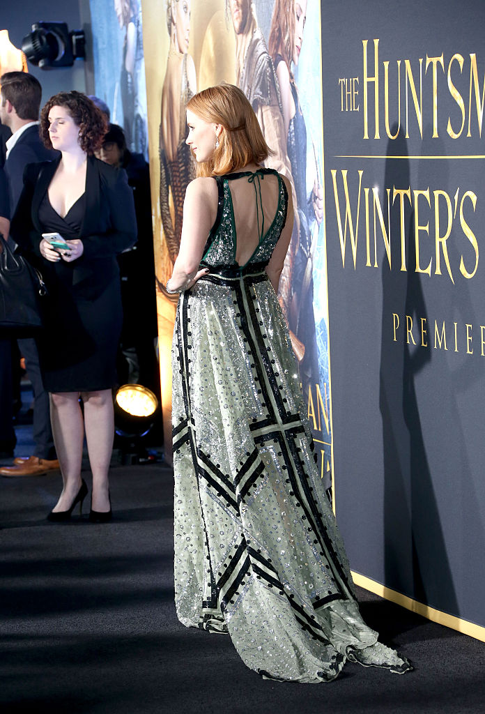 the huntsman: Winter's War, premiere styles, celebrity styles