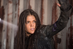 "The 100 -- ""Join Or Die"" -- Image HU313b_0122 -- Pictured: Marie Avgeropoulos as Octavia -- Credit: Dean Buscher/The CW -- © 2016 The CW Network, LLC. All Rights Reserved"