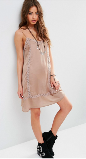 lace slip dress, lace styles, summer trends