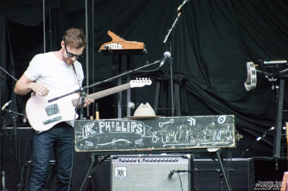 K. Phillips opened for Counting Crows and Rob Thomas at Chastain Park Amphitheatre in Atlanta