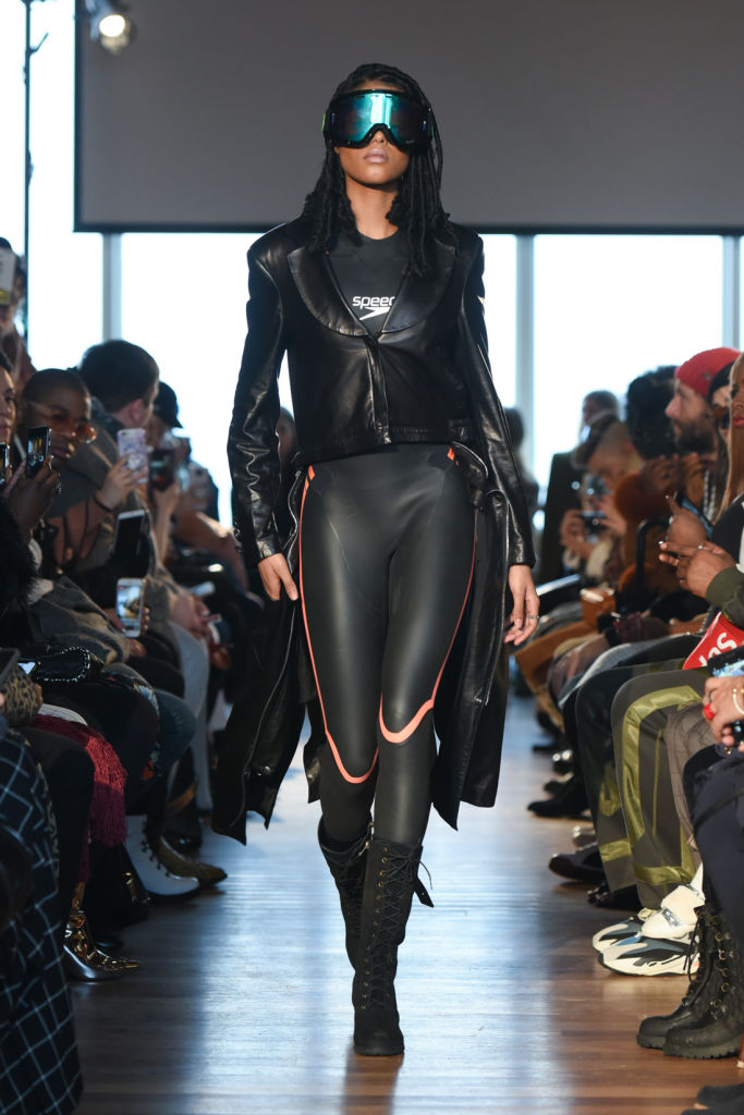 Romeo Hunte - Presentation - February 2018 - New York Fashion Week- ski goggles