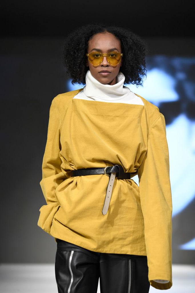 Tinted Sunglasses - 2018 Vancouver Fashion Week - Day 5