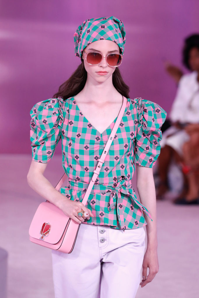 Nyfw Spring 2019 Top Moments Kate Spade Tom Ford Metallic Lips More Atlanta S Cw69